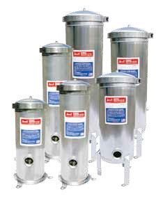 BAND CLAMP FILTER UPTO 25GPM