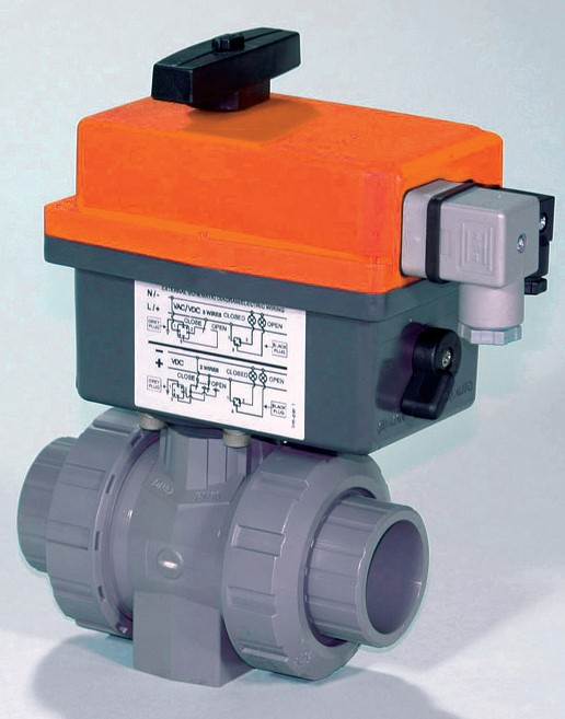 "Motorized Ball Valve 1/2"" CPVC 35% Max Duty Cycle"