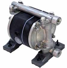 "TC-X050AT-NPT DIAPHRAGM PUMP 1/4"" NPT, AL/PTFE"
