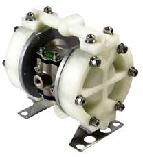 "TC-X100PC-NPT DIAPHRAGM PUMP 3/8"" NPT, PPG/NEOPRENE"