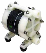 "TC-X102PS-NPT DIAPHRAGM PUMP 3/8"" NPT, PPG/SANTOPRENE"