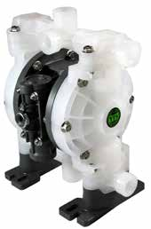 "TC-X152PC-PP-NPT DIAPHRAGM PUMP 1/2"" NPT, PP/NEOPRENE"