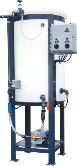 Economy 55 gallon glycol feed system with low level control